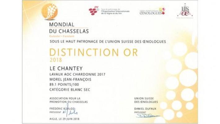 Mondial du Chasselas 2019